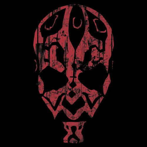 Darth Maul Face Outline Darth Maul Pinterest Darth Maul Star