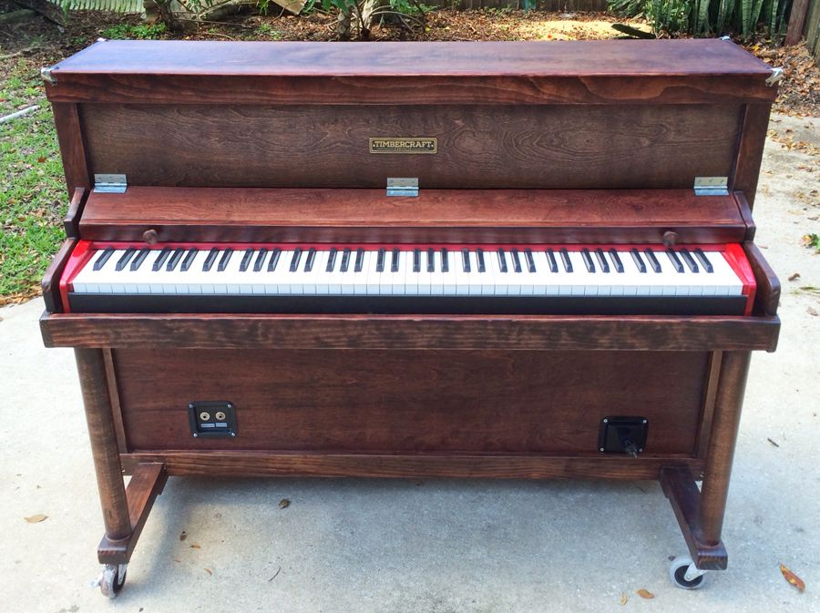 Built Custom Upright Shell For Electric Piano Piano Forum