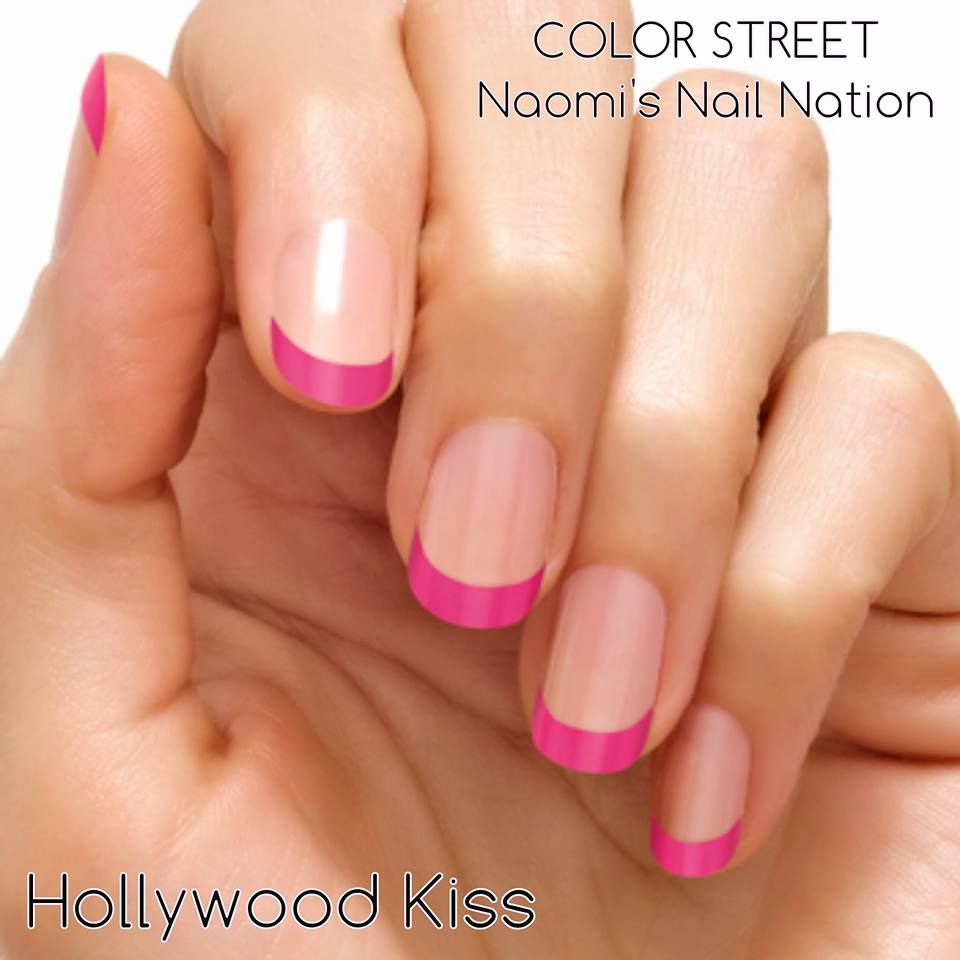 Hollywood Kiss French Manicure ~ Endless possibilities with Color ...