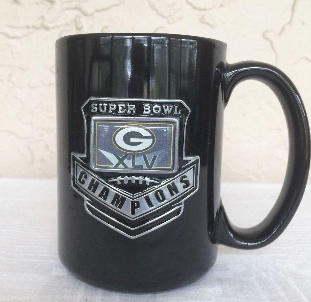 Us 19 99 Green Bay Packers Superbowl Mug Superbowl Green Bay Packers Champions Xlv Coffee Football Mugs Coffee Mugs Unique Coffee Mugs
