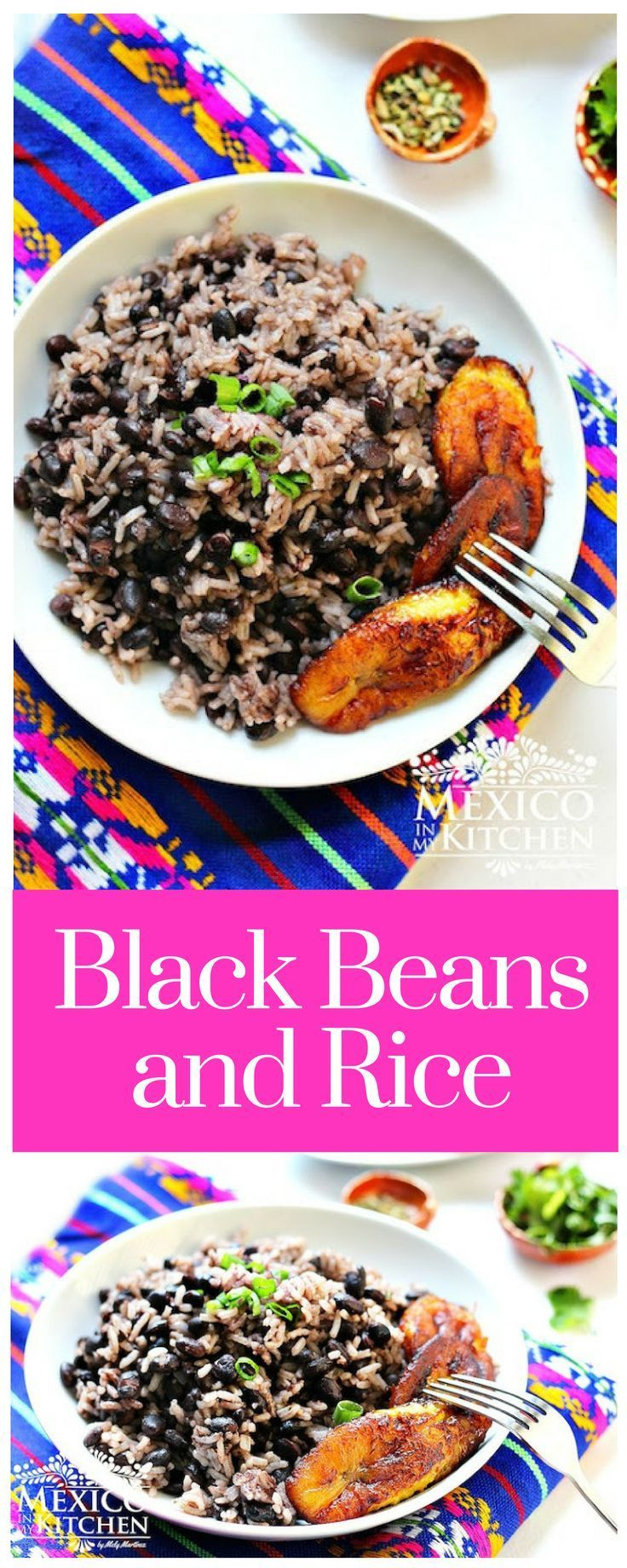 Black Beans and Rice #cubanrice