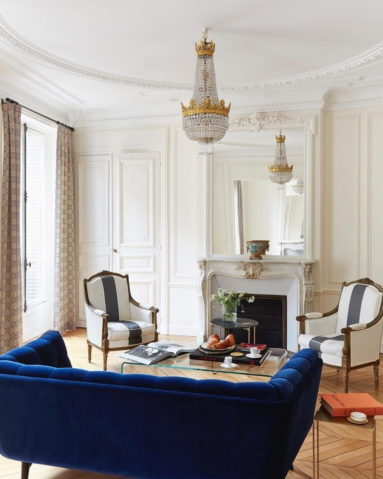 59 Parisian Living Rooms To Make You Swoon Parisian Living Room Paris Living Rooms Parisian Room