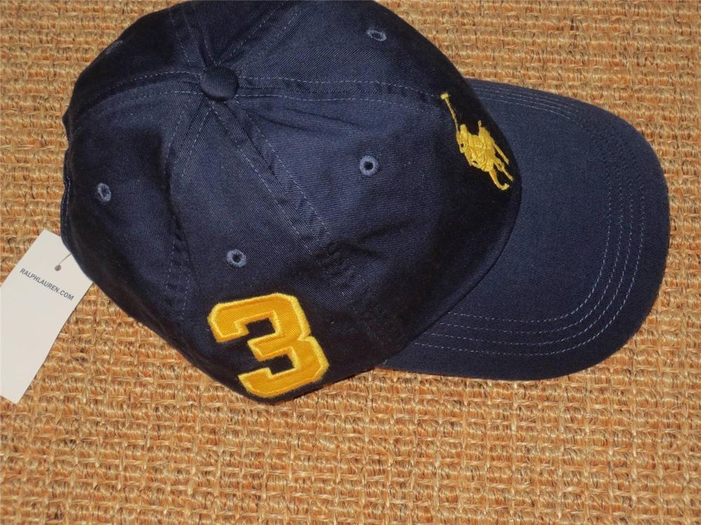 503b8d56 POLO RALPH LAUREN BOY'S BASEBALL CAP NEW BIG PONY NWT #PoloRalphLauren # BaseballCap