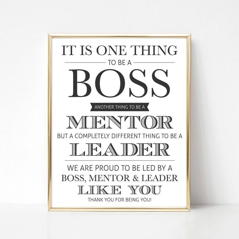Digital Boss Thank You Gift We Best Boss Appreciation Gift Etsy Best Boss Quotes Boss Day Quotes Boss Quotes