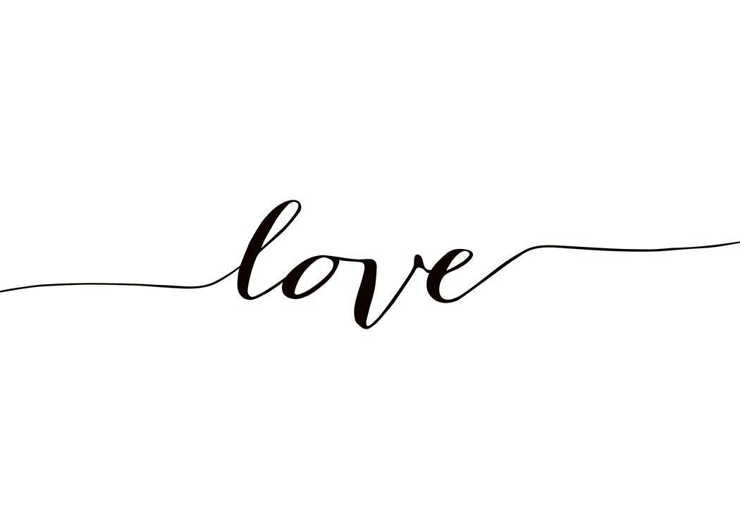 Positive Vibes Quotes Wallpaper Poster In Schwarz Wei 223 Mit Schriftzug Love Worte