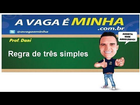 REGRA DE TRÊS SIMPLES - YouTube