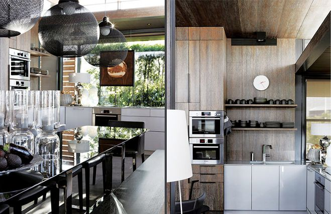 Diseño Interior  A Waterfront Penthouse  Ático Dustjacket Magnificent South African Kitchen Designs Design Ideas