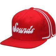2c55a8eb371 Men s Memphis Grizzlies Mitchell   Ness Red Hardwood Classics Jersey Hook  Snapback Adjustable Hat