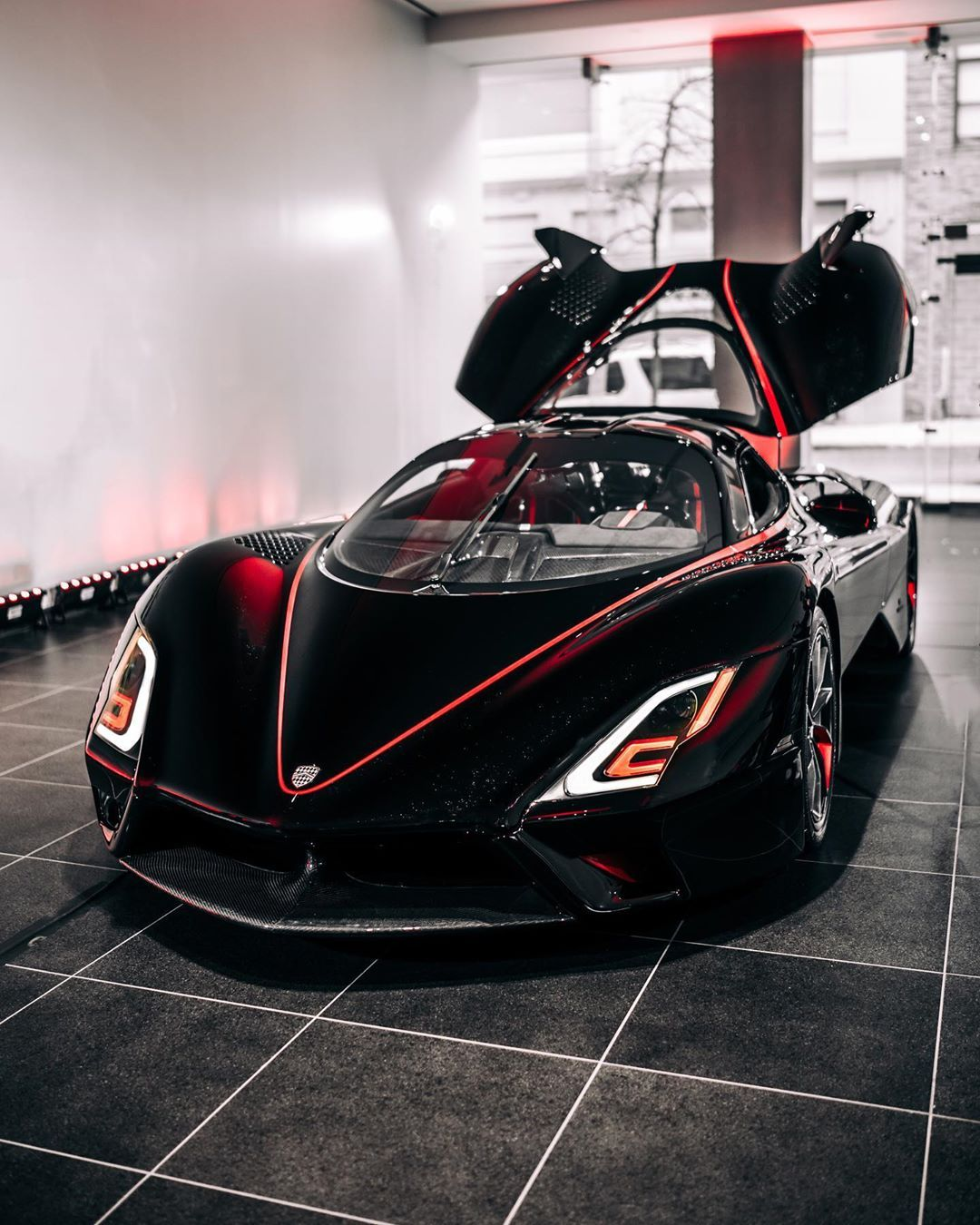 Got A Chance To Check Out The 1 9 Million Dollar Ssc Northamerica Hypercar Yesterday At Manhattanmotorcars Inter Super Cars Super Luxury Cars Exclusive Cars