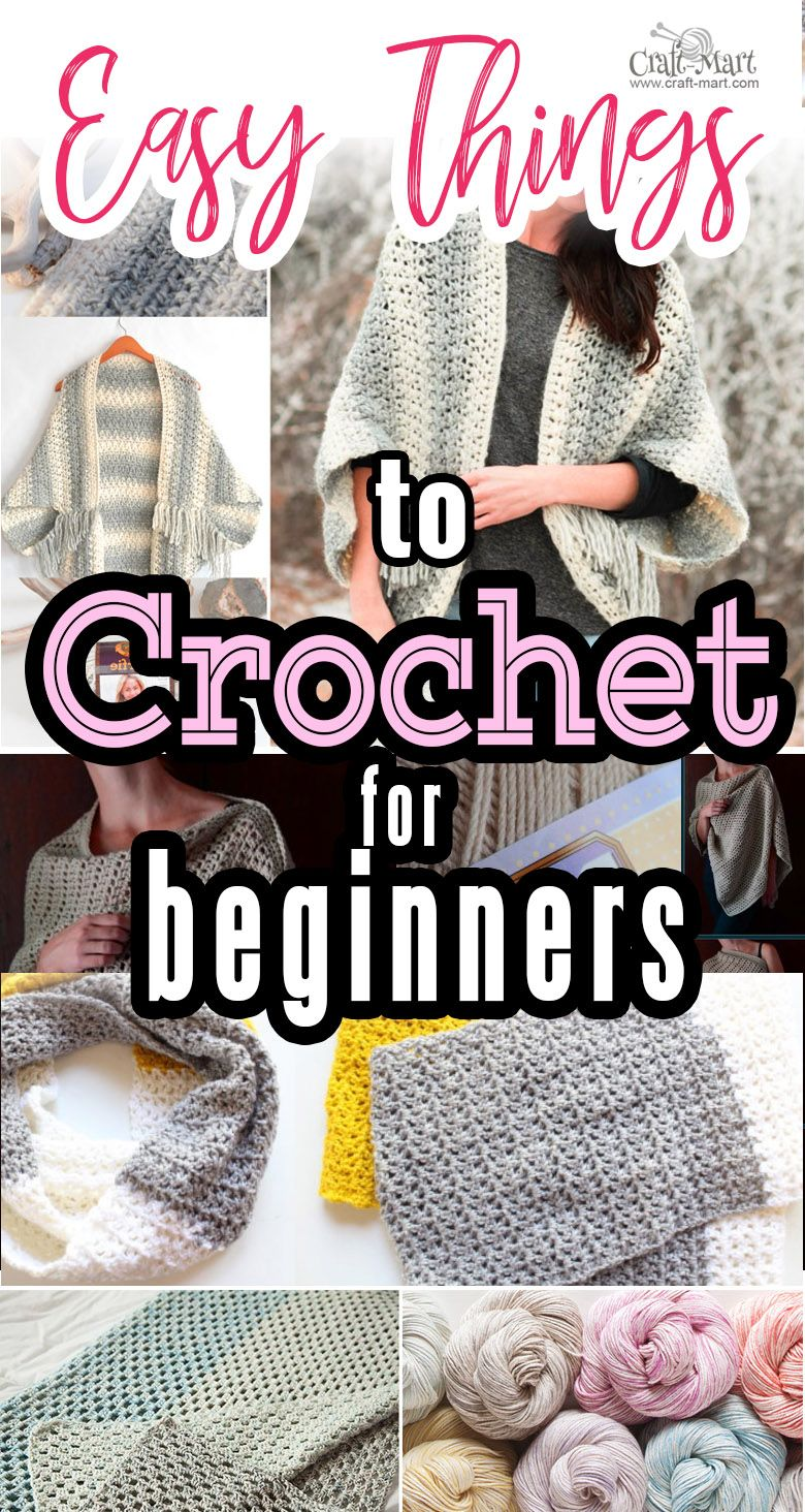 5 Cozy Things To Crochet Free Patterns For Beginners Crochet