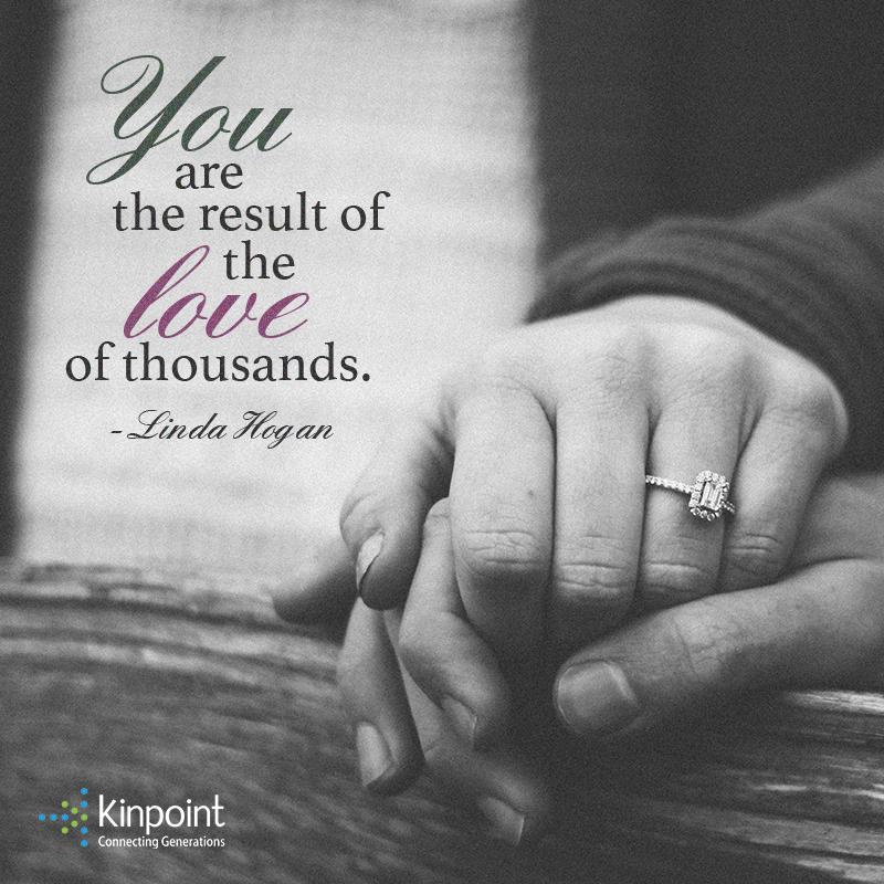 huippusuunnittelu kuumia tuotteita klassinen istuvuus You are the result of the love of thousands.