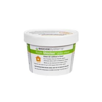 Biocide Systems Room Shocker 11g Chlorine Dioxide Odor Eliminator