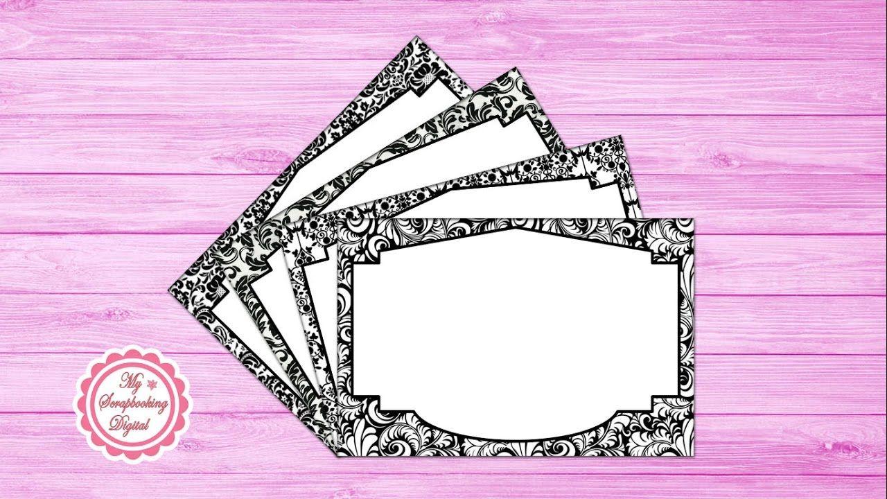 Cómo Hacer un Marco para Invitaciones en Photoshop - Diseño 5 ...