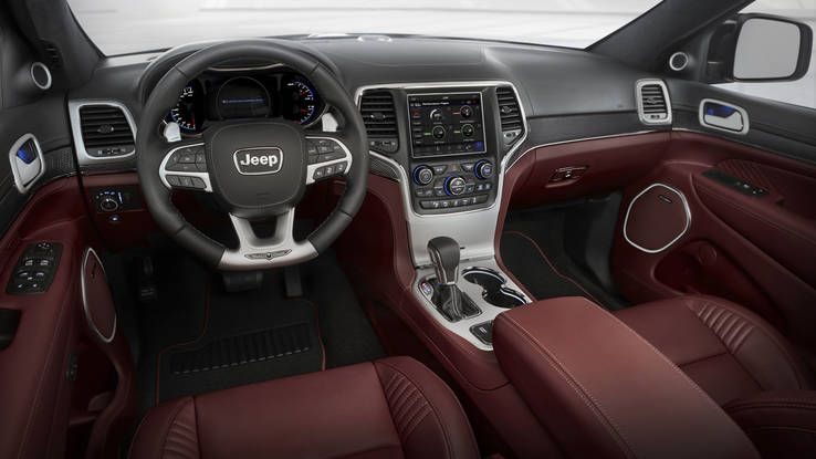 2018 Jeep Grand Cherokee Trackhawk Interior Photo 1 Jeep Grand