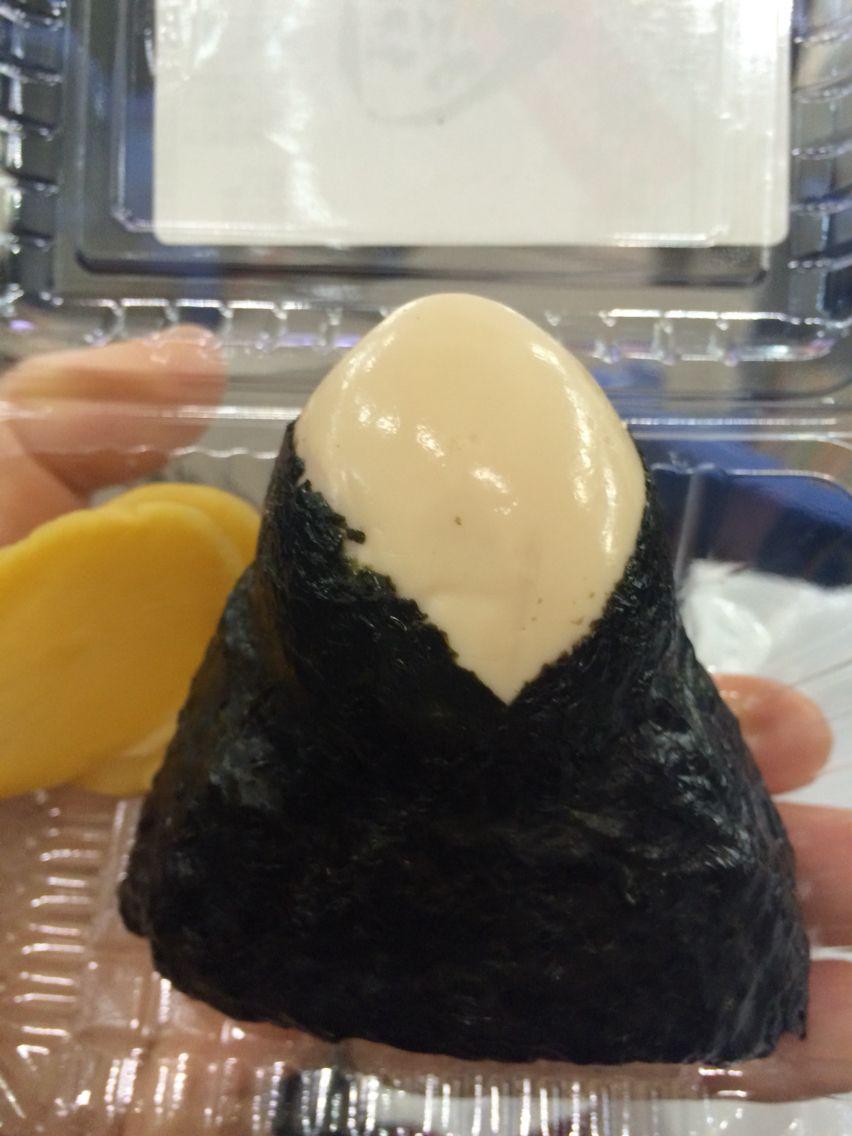 古市庵の煮卵おにぎり   ONIGIRI avec l'oeuf dur ♡