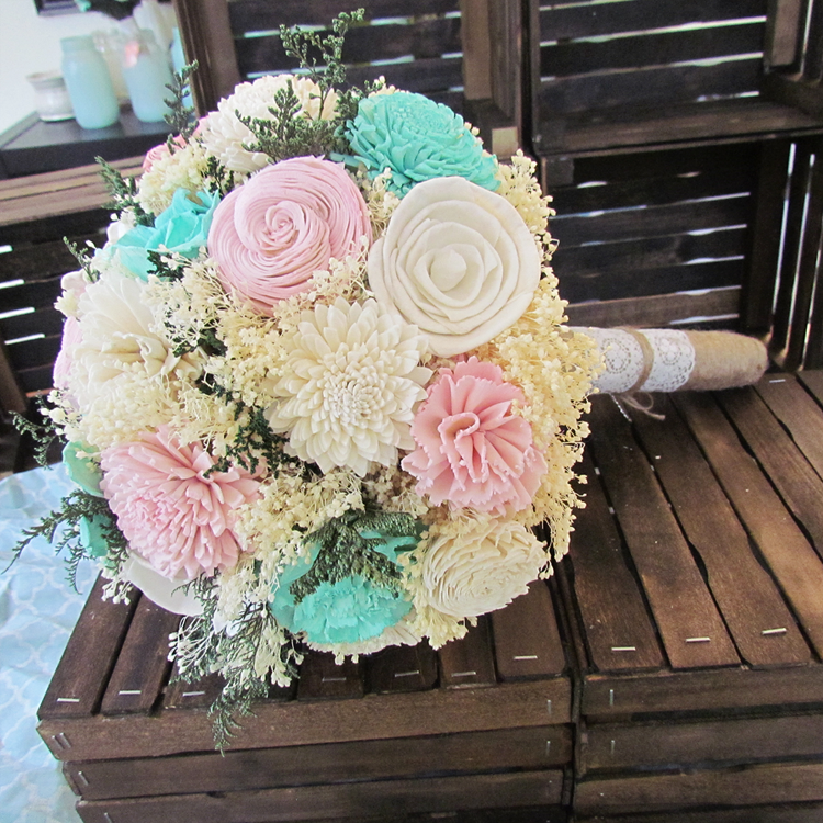 DIY Sola Flower Bouquets Finished!! - Weddingbee | Flowers ...