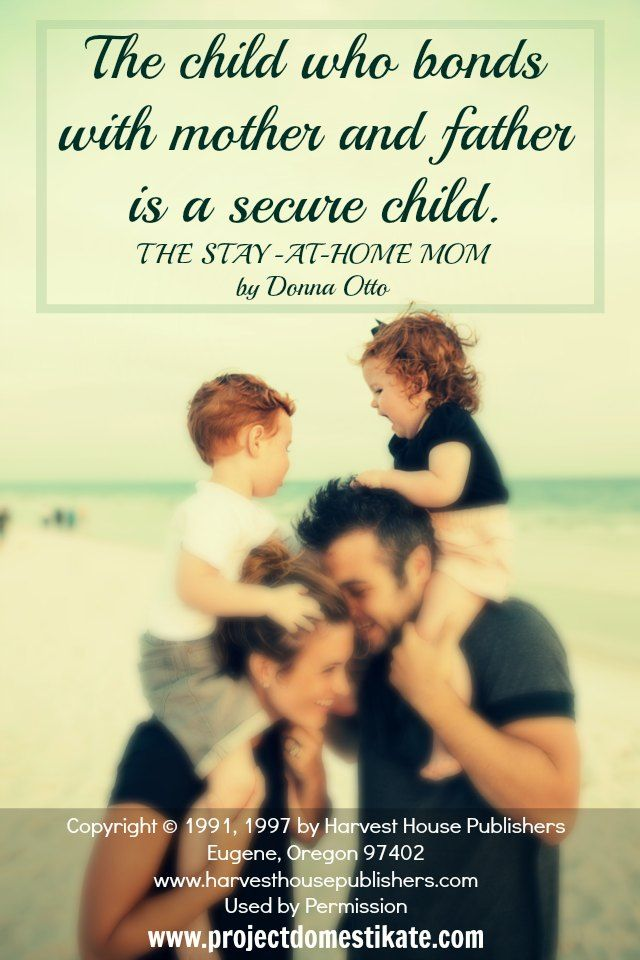 Best Parenting Quotes From The Stay At Home Mom By Donna Otto   Project