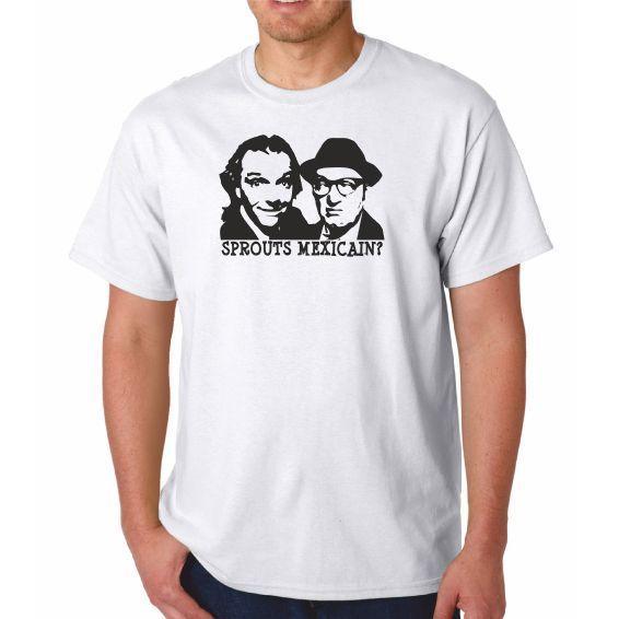 SMASHING BLOUSE Mens British TV Series Cult Rik Mayall Gift Bottom Tshirt