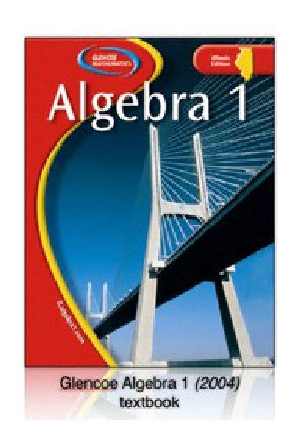 Glencoe Algebra 1 2004 Solutions Scribd INB