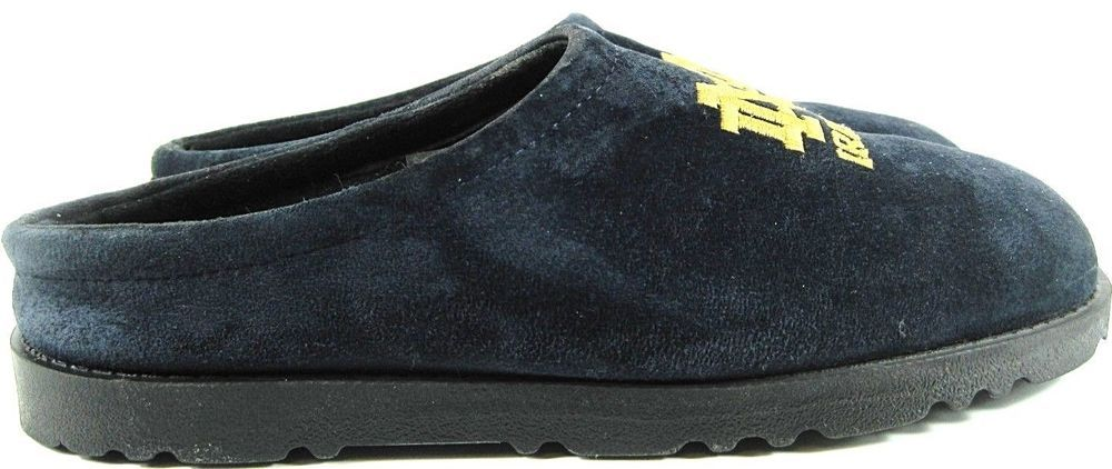 Hush Puppies Notre Dame Men Mule Slippers Size 9 M Blue Style 10056 Hbh 23 Hushpuppies Moccasinslippers Boots Men Mens Slippers Moccasins Mens