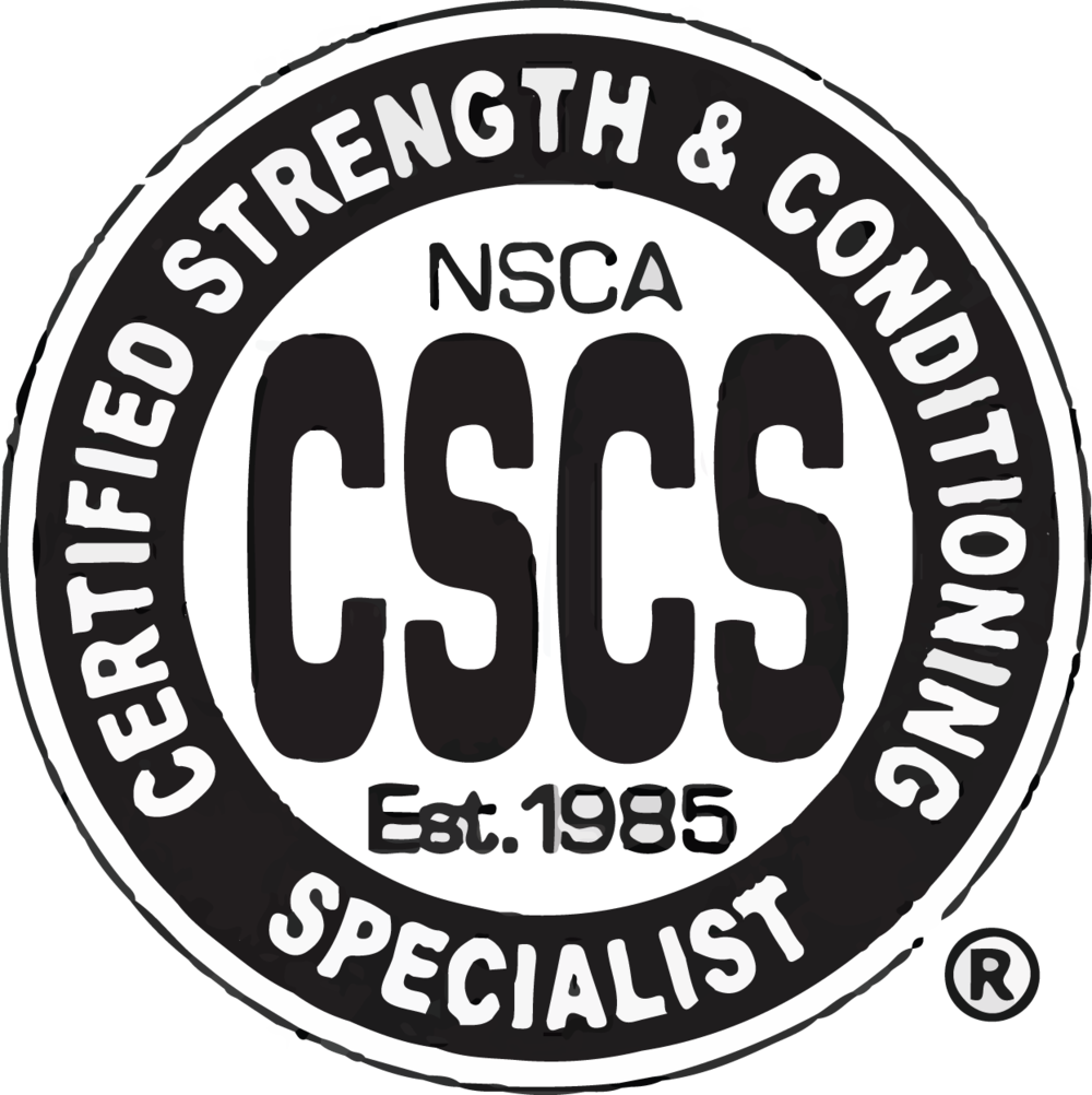 Certified Strength And Conditioning Specialist I Chose This
