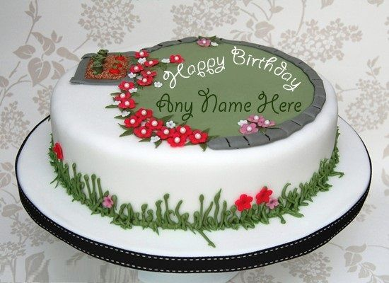 Birthday Cakes Images To Write Name ~ Birthday cake for boyfriend images pictures and wallpapers happy