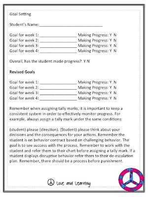 Behavior Management Plan Polka Dots Classroom Behavior Management