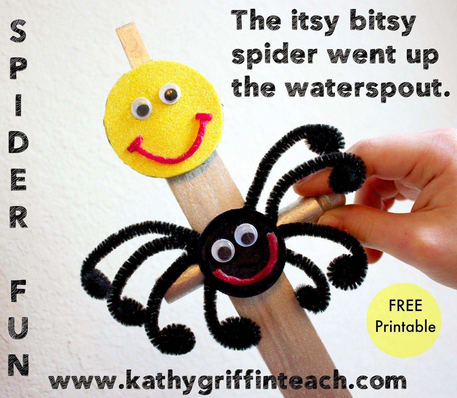 Kathy Griffin S Teaching Strategies Itsy Bitsy Spider Language Fun Nursery Rhyme Crafts Nursery Rhymes Activities Itsy Bitsy Spider [ 1393 x 1600 Pixel ]