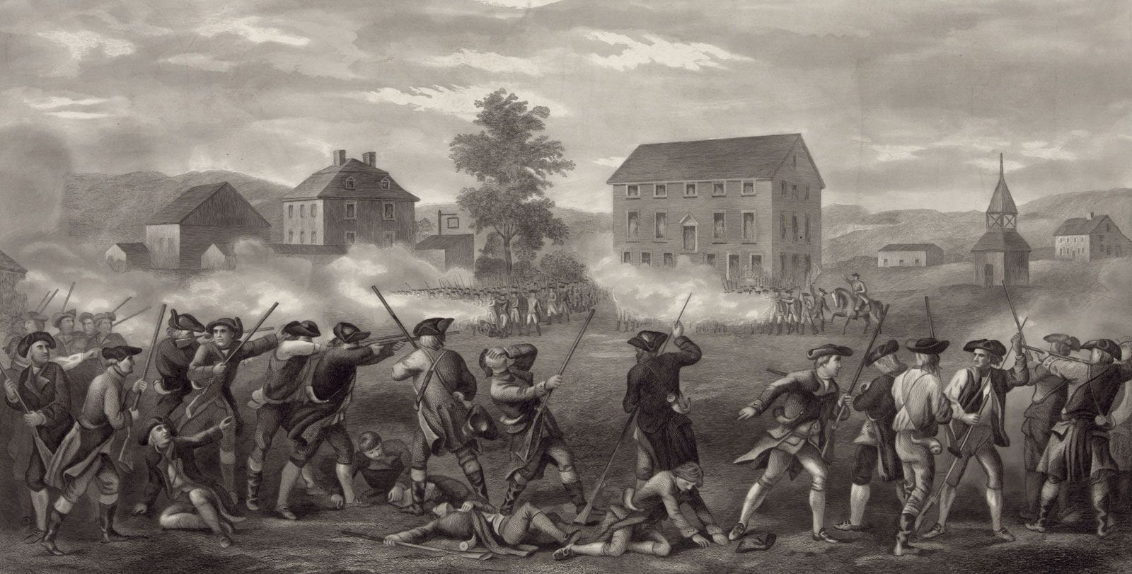 Battles Of Lexington And Concord Reading Level 2