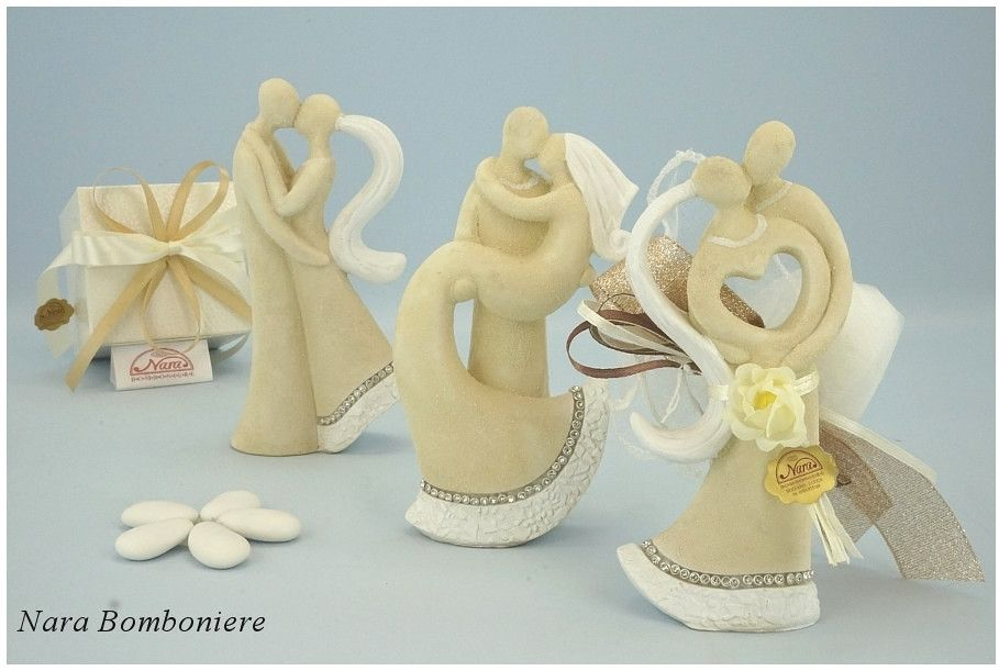 Nara Bomboniere Matrimonio.Bomboniere Matrimonio Sposini Grandi Bomboniere Per Matrimonio