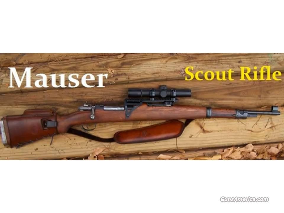 Mauser M48 Scout Rifle Guns > Rifles > Mauser Rifles