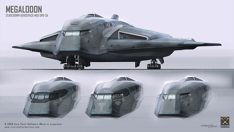 military sci fi spacecraft - photo #18