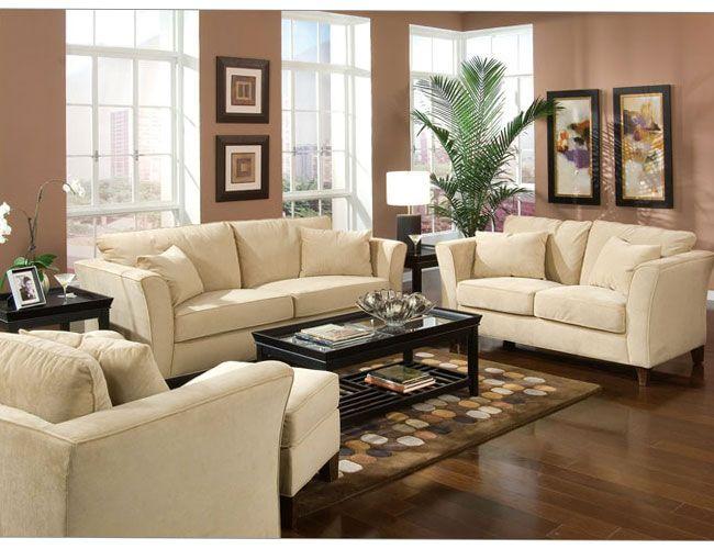 Sofa U0026 Loveseat Set Cream Velvet Fabric, You Will Receive A Total Of 1 Sofa  Couch And 1 Loveseat Sofa. Sofa: 89 X X 37 Loveseat: X X 37 Finish: Cream  ...
