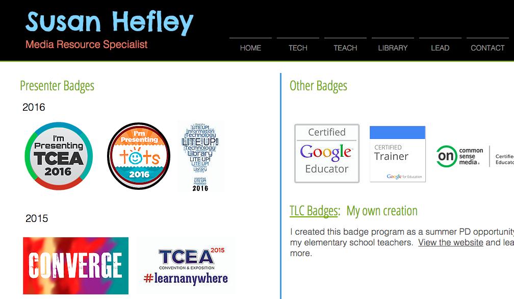 Add Your Badges To A Digital Portfolio Or Resume Digital Portfolio Teaching Badge