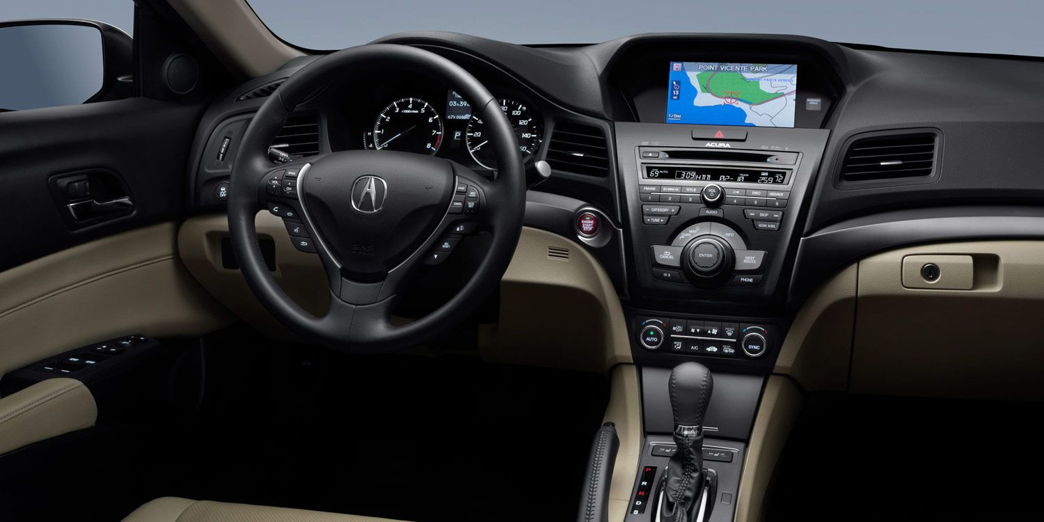 2013 Ilx Interior 5 Speed Automatic With Technology Package And Parchment Interior Acura Ilx Acura Technology Package