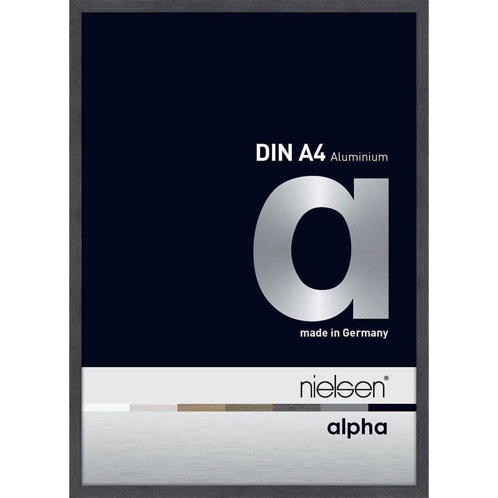 Nielsen Alurahmen Alpha 40x50 Grau (furnierte Oberfl�che)
