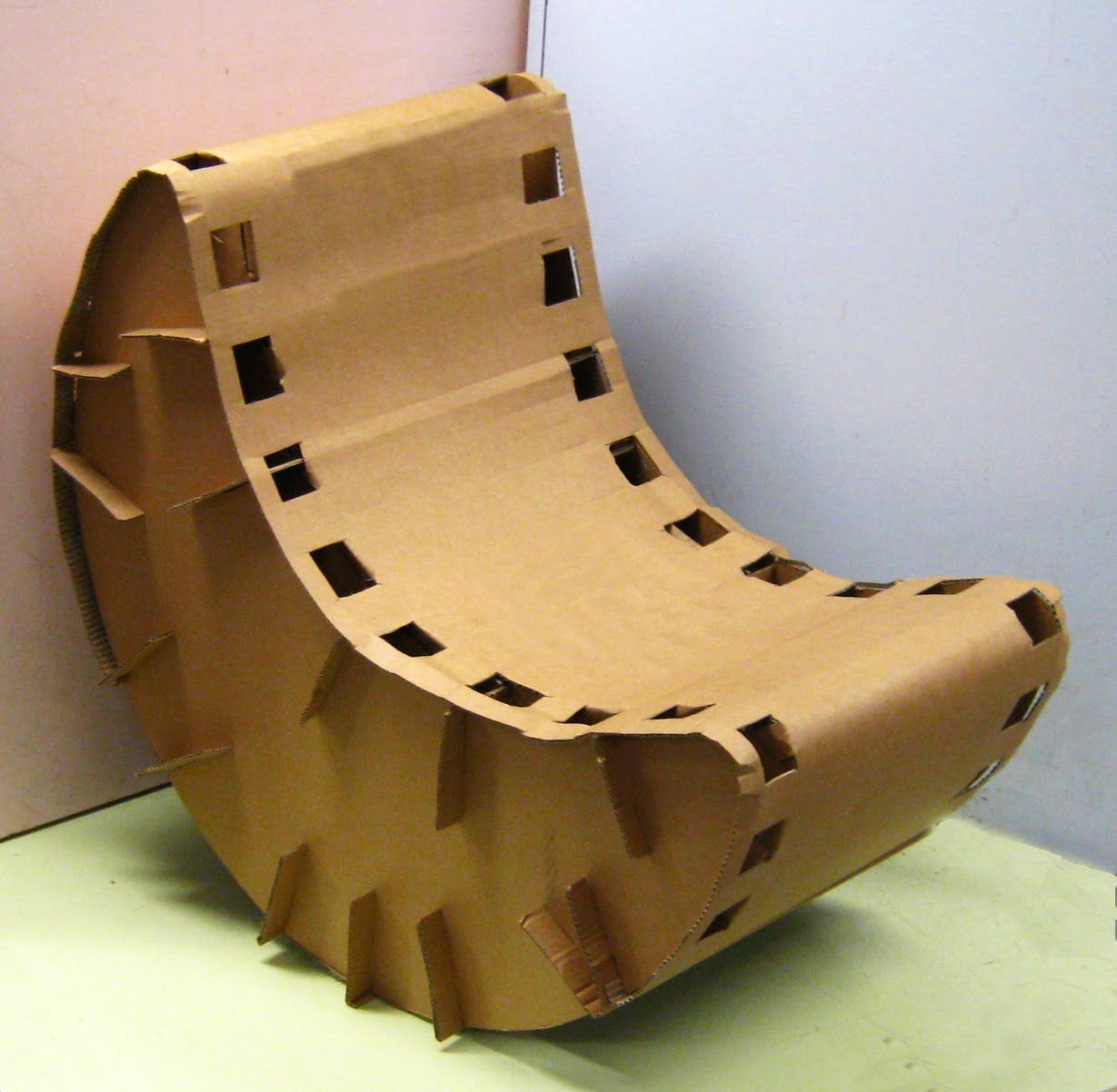 Cardboard rocking chair - Cardboard Chair Google Search