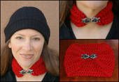 Jeweled Neck Warmer to #Crochet via @aboutcrochet