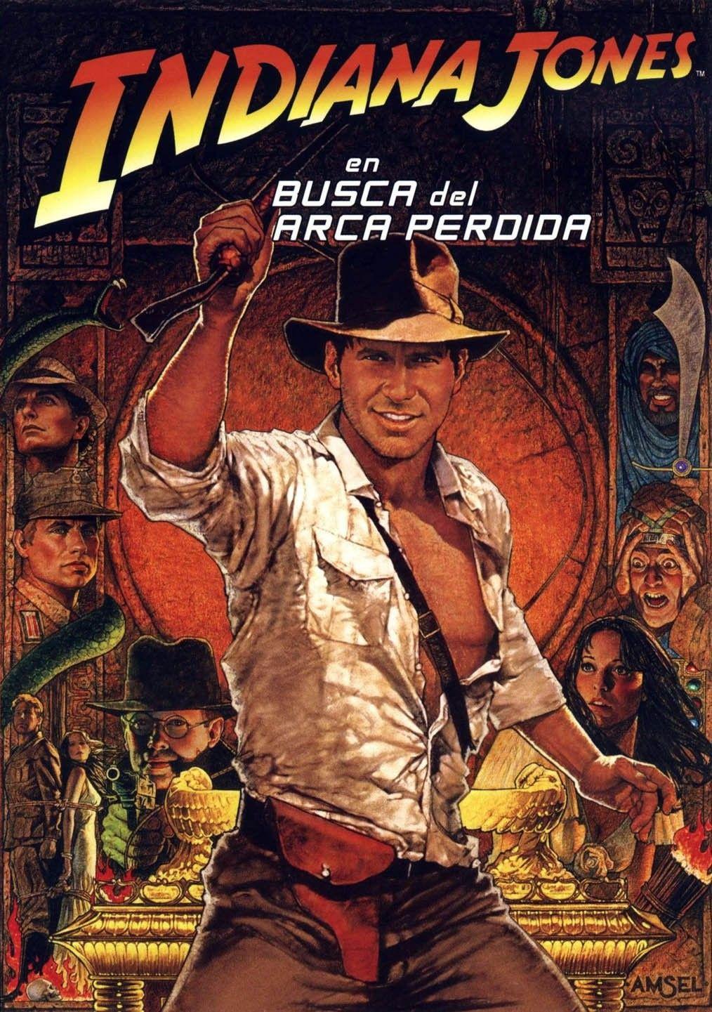 Ver Indiana Jones En Busca Del Arca Perdida Online Gratis 1981 Hd Película Completa Español Best Movie Posters Indiana Jones Great Movies