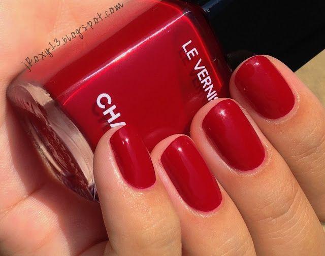 Chanel Rouge Puissant Chanel Nail Polish Chanel Nails Sns Nails Colors