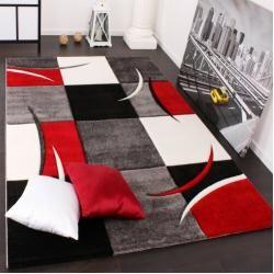 Teppich in Rot/Schwarz/GrauWayfair.de #slaapkamerkleuren