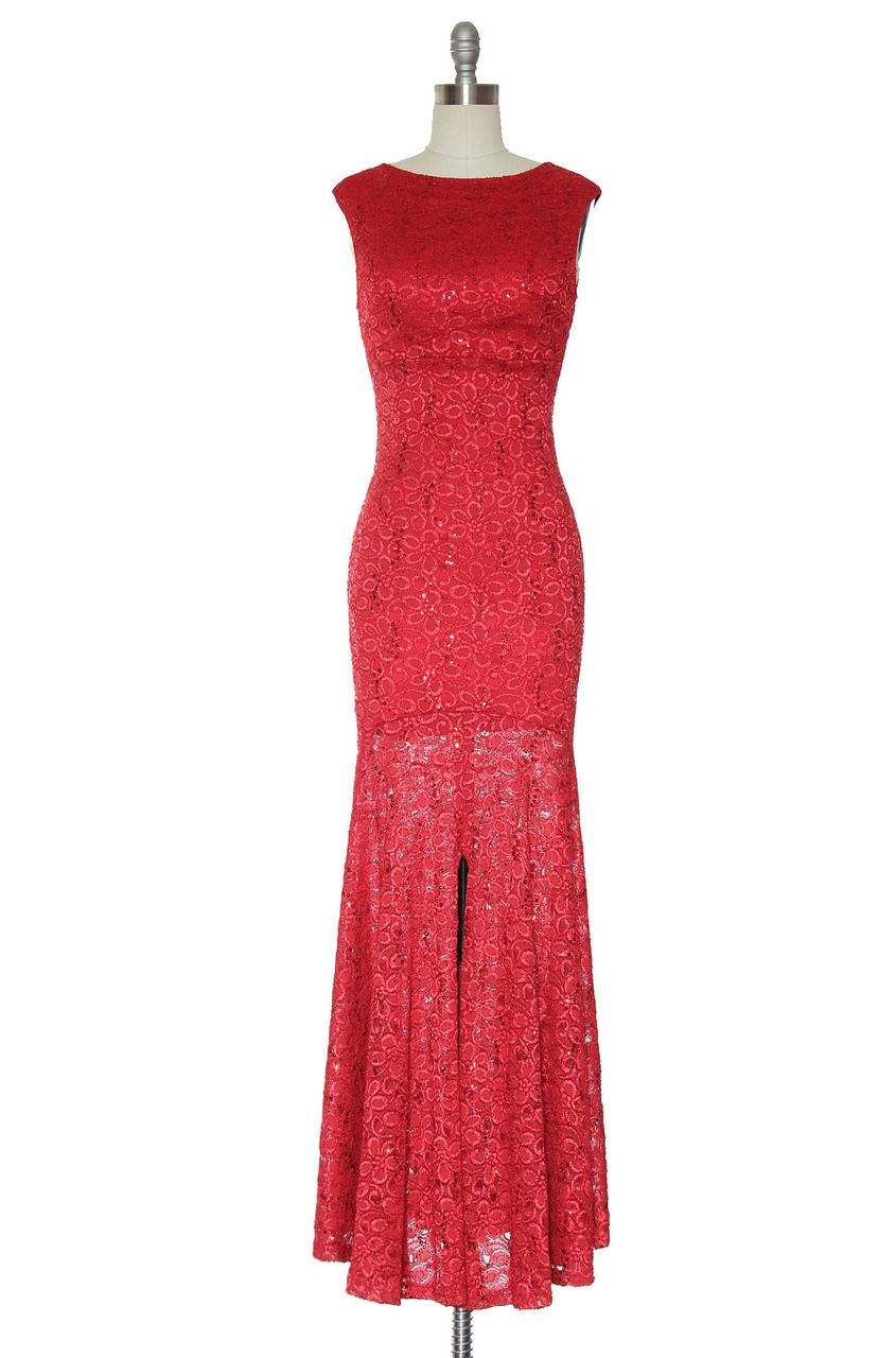 Fire and Ice Dress in Red   Vintage, Retro, Indie Style Dresses ...