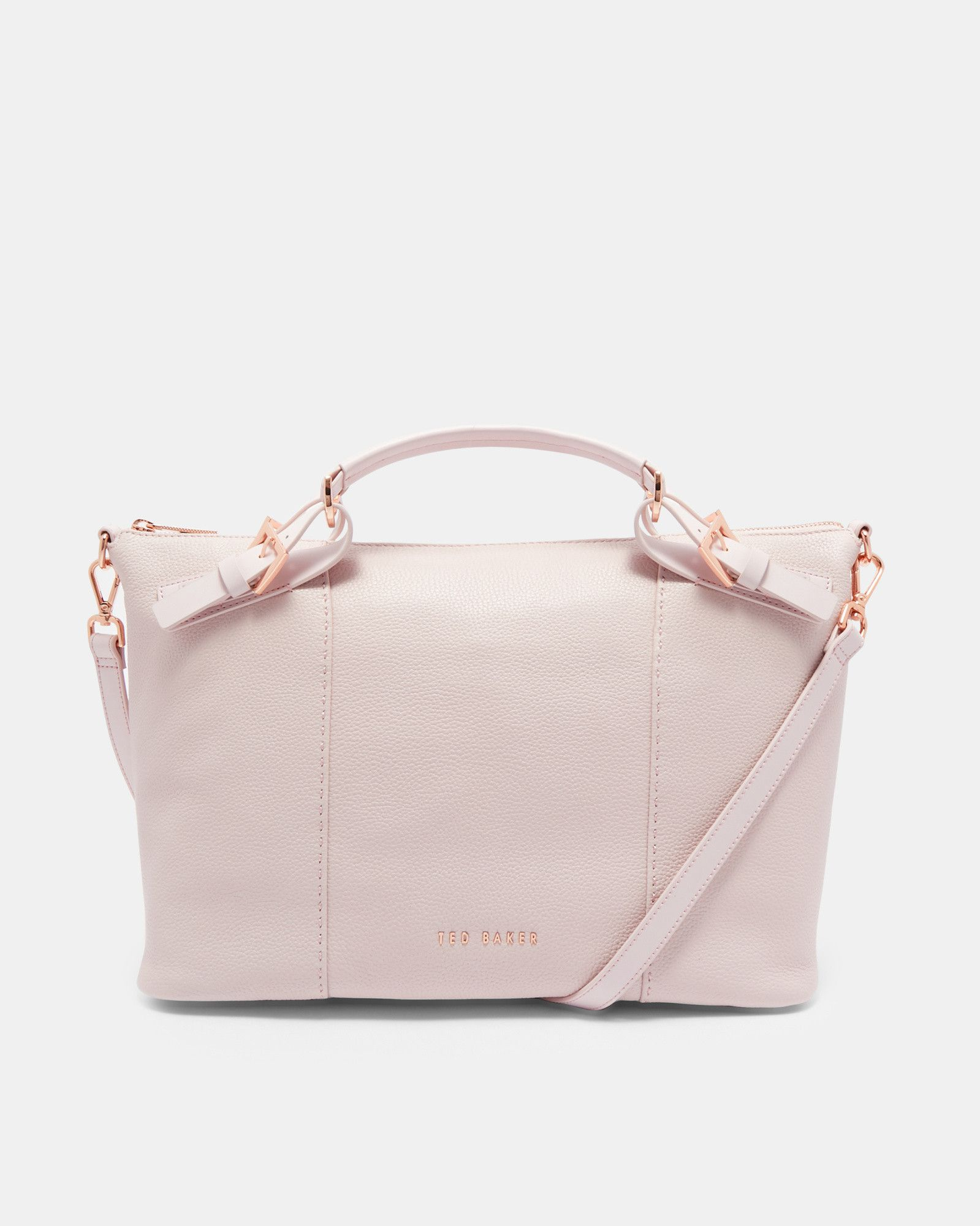 f16e659a78a Ted Baker Bridle handle large leather tote bag | Products | Large ...