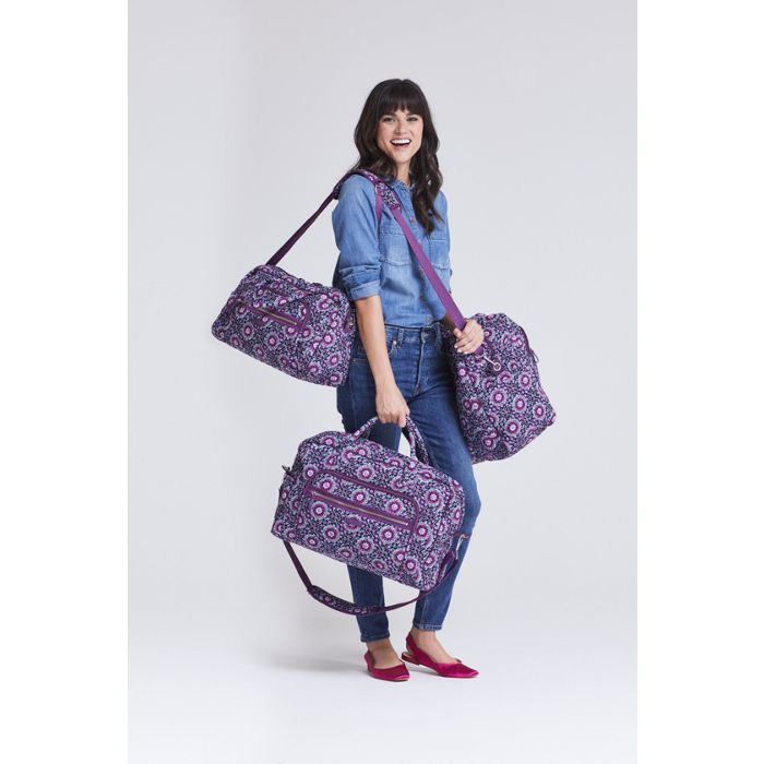 Image of Iconic Weekender Travel Bag in Lilac Medallion 7d709ed93b493