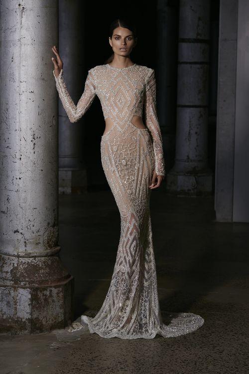 sparkly geometrics (Steven Khalil - zsazsabellagio) | Fashion ...