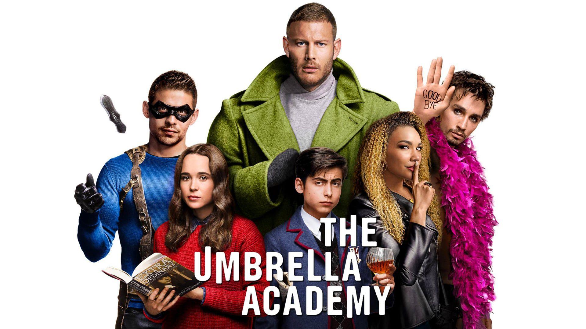 The Umbrella academy (Netflix) 645cc78889eef217bd0b3acdc332b499