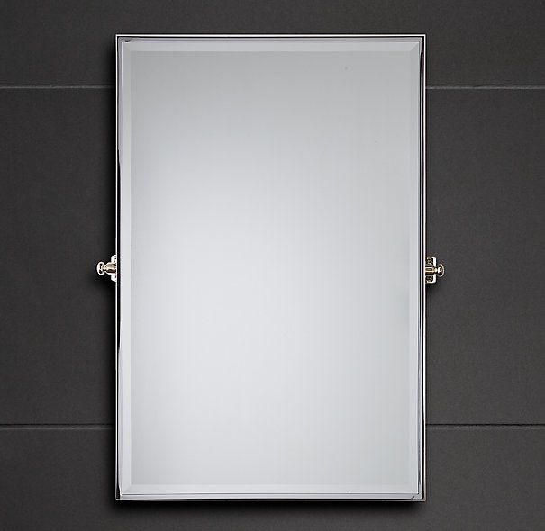 Inspiration Web Design Bistro Rectangular Pivot Mirror Rectangular Pivot Mirrors Restoration Hardware Bathroom mirror option