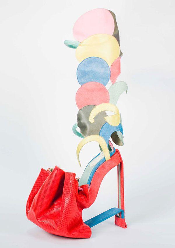 a83648d6c98 Valentini Argyropoulou -Cosmopolitan.com  ShoeArt  ArtShoes Wierd Shoes