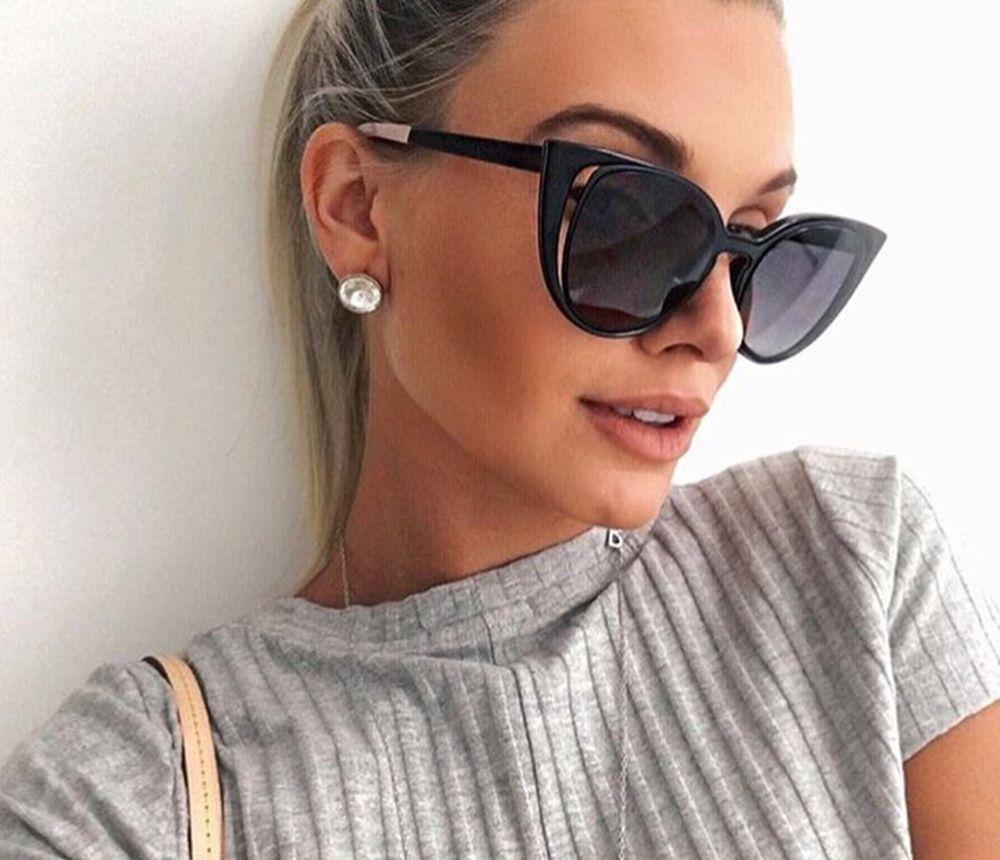 62871ebfc0dbd5 Katzenauge Frauen Sonnenbrille Rose Gold Brillen Verspiegelt Vintage Retro  Nue