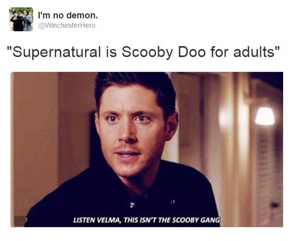 "Crowley: ""I'm rather Daphne..."""